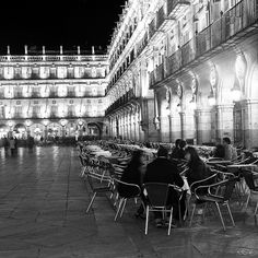 Salamanca #CastillayLeon #Spain   -- I miss this plaza more then anything.