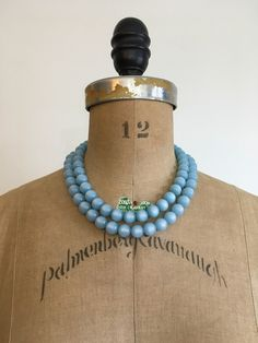 A personal favorite from my Etsy shop https://www.etsy.com/listing/606390015/1950s-1960s-blue-moonglow-double-strand