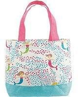Mud Pie Mermaid mini tote