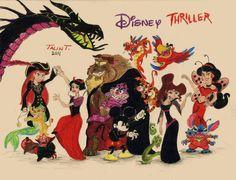 Disney Thriller