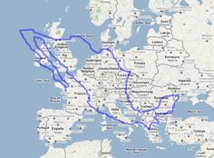 Australia over Europe 7,692,024 square km's | Cool stuff ...