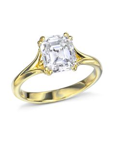 18 karat yellow gold trellis solitaire engagement ring mounting made for a carat center stone.This ring design can be made in rose gold, white gold or platinum. Thing 1, Gia Certified Diamonds, Quality Diamonds, 18k Rose Gold, Solitaire Engagement, Trellis, Ring Designs, Wedding Bands, White Gold