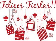 Vinilos de Felices Fiestas