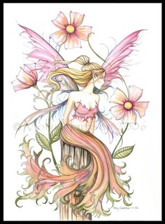"""The Fairy Art and Fantasy Art of Molly Harrison:.....""""Pink"""""""