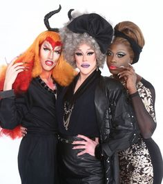Acid Betty, Thorgy Thor, Bob the Drag Queen