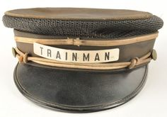 Northern Pacific Trainman's Railroad Cap with Badge : Lot 591