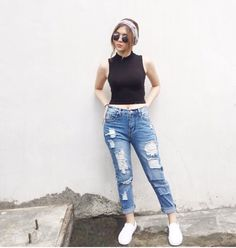 Sofia Andre's casual wear Outfit Goals, My Outfit, Outfit Ideas, Teen Fashion, Fashion Outfits, Womens Fashion, Style Fashion, Casual Wear, Casual Outfits