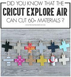 Cricut Explore Air: What Can It Cut? - thecraftedsparrow.com