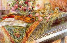 Music Room III - Composer's Retreat by Lena Liu