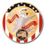 10 Year Anniversary of Sept. 11th 2D Coin