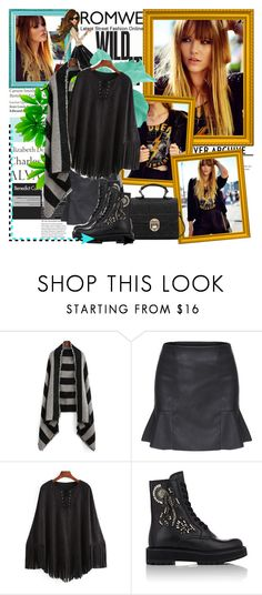 """ROMWE 70"" by fashionmonsters ❤ liked on Polyvore featuring мода, Tiffany & Co., Kate Spade, Prada и romwe"