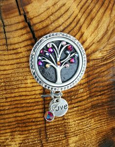 Check out this item in my Etsy shop BadgeBlingCS https://www.etsy.com/listing/257720580/tree-of-life-glitter-black-unique-badge
