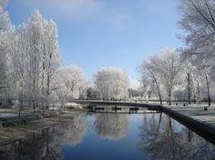 Río de Villarcayo en invierno