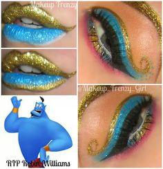 Arabian night - Make Up - Disney Eye Makeup, Disney Inspired Makeup, Makeup Inspo, Makeup Inspiration, Beauty Makeup, Maquillaje Halloween, Halloween Makeup, Halloween Dress, Halloween Stuff