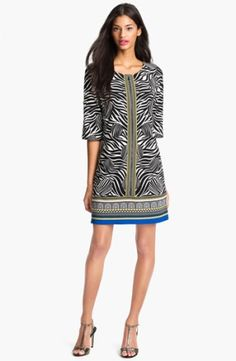 Laundry by Shelli Segal Print Jersey Dress (Petite) $225.0 by basketball2710