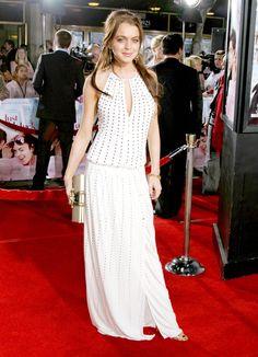 Lindsay Lohan in Gucci