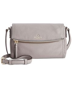 kate spade new york Cobble Hill Mini Carson Crossbody - Crossbody & Messenger Bags - Handbags & Accessories - Macy's - price of bags, side clutch bags, bags with price *ad Popular Handbags, Cute Handbags, Cheap Handbags, Chanel Handbags, Black Handbags, Purses And Handbags, Luxury Handbags, Large Handbags, Luxury Bags