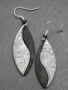 Image result for polymer clay earrings