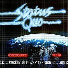 STATUS QUO ROCKIN  ALL OVER THE WORLD Vinyl Lp 1977 Album Australia Vertigo