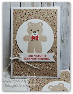 Beary Merry Notecard