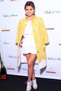miroslava duma love the coat!