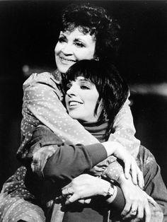 Chita Rivera & Liza Minnelli in the Broadway musical The Rink (1984)