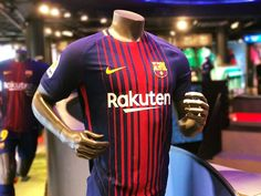 New home kit for season 2017-18 #FCBarcelona #FCB #Shop #Store #FansFCB