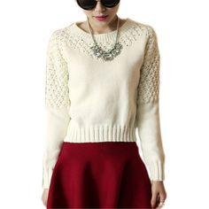 Укороченный свитер