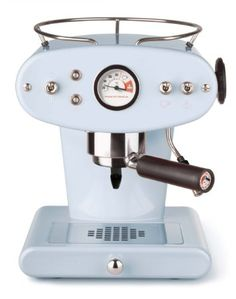 Francis Francis for Illy X1 Ground Coffee Machine, Light Blue