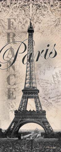 Eiffelturm Poster von Todd Williams bei AllPosters.de