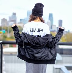 Alex's Closet: cool outfit with our #khalifa tee #backnumber #collab #lesartists