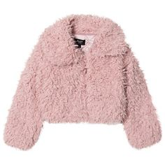 This adorable pale pink jacket from Bardot Junior will round off her new season looks brilliantly. Crafted in a soft material, it Teen Jackets, Cute Jackets, Fall Jackets, Jackets For Women, Bomber Jackets, Denim Jackets, Leather Jackets, Puffer Jackets, Pink Fluffy Jacket