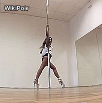 Pole Fitness Moves, Pole Dance Moves, Pole Dancing Fitness, Dance Choreography, Pole Dance Studio, Pool Dance, Pole Tricks, Aerial Dance, Yoga For Flexibility