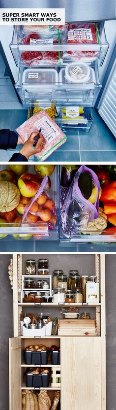 Don't let your food go to waste! IKEA ISTAD plastic bags make labeling and storing your food easier than ever. Because is there anything more beautiful than an organized refrigerator? Interior design by Nathalie Kamkum. Digital design by Lasse Johansson. Copywriting by Vanessa Algotsson. Photography by Mats Ekdahl. Editing by Linda Harkell.
