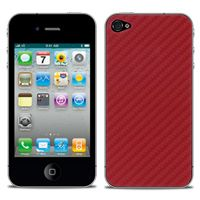 Grand Prix Carbon Fiber Skin in Red  For iPhone 4/4s by iChic Gear