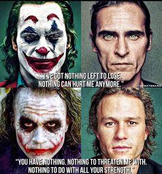 Are many movie scenes familiar? Joker is recognized as the best film of the year. Joker Quotes As Inspiring Motivational Posters. Joker Batman, Joker Heath, Joker Art, Heath Legder, The Joker, Gotham Batman, Batman Art, Batman Robin, Joker Poster