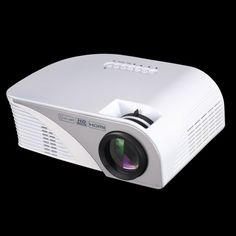 2016 The Newest 2200 Lumens Portable LED Projector Multi-media Home Theater Projector Support