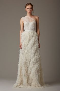 11 Wedding Dress Trends That Will Be Big in 2016 via Brit + Co                                                                                                                                                                                 More