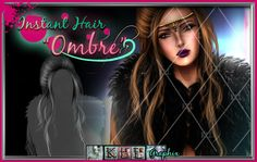 Ombre Instant Hair PSD, $1.50