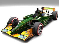 IndyCar Series Deltec Racing.