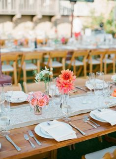 Flower: Nina Kincaid Designs - Heartstone Ranch Wedding from Galas by Gerry + Lane Dittoe   Read more - http://www.stylemepretty.com/2013/06/10/heartstone-ranch-wedding-from-galas-by-gerry-lane-dittoe/