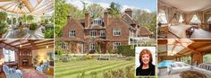 That's a lorra, lorra money: Cilla Black's sons put her eight-bed Buckinghamshire mansion on the market for £4.3million