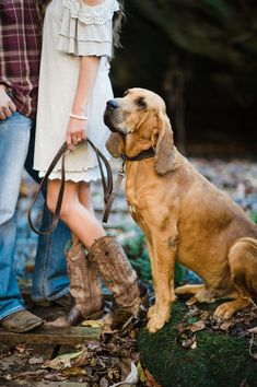 engagement photos with your dog :) | Sweet Julep