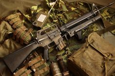 M16A1 with XM148