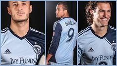 sporting kansas city 2013 home kit | love the asymmetrical design (and graham zusi is adorable)