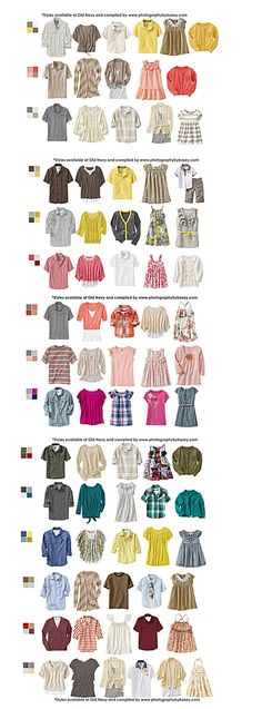 What to Wear-Clothing Ideas