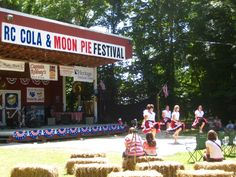 The RC Cola and Moon Pie Festival in Bell Buckle, Tennessee