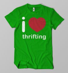 Did you know that I love Thrifting Day is July 7, 2012?  [Mr. Goodwill Hunting]