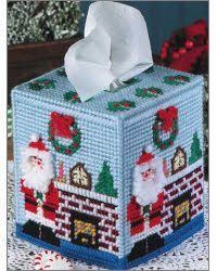 Christmas Tissue Toppers