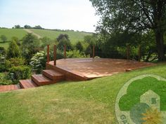 deck on a slope - Google Search